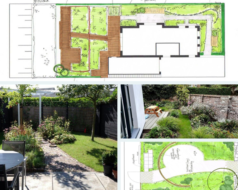 Ontwerpen van Tuin van de buren